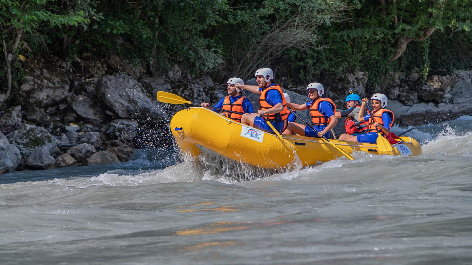 Rafting in Kutaisi